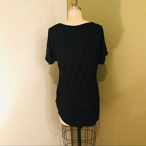 Cotton On Tops - Cotton-On Black T-Shirt Tunic